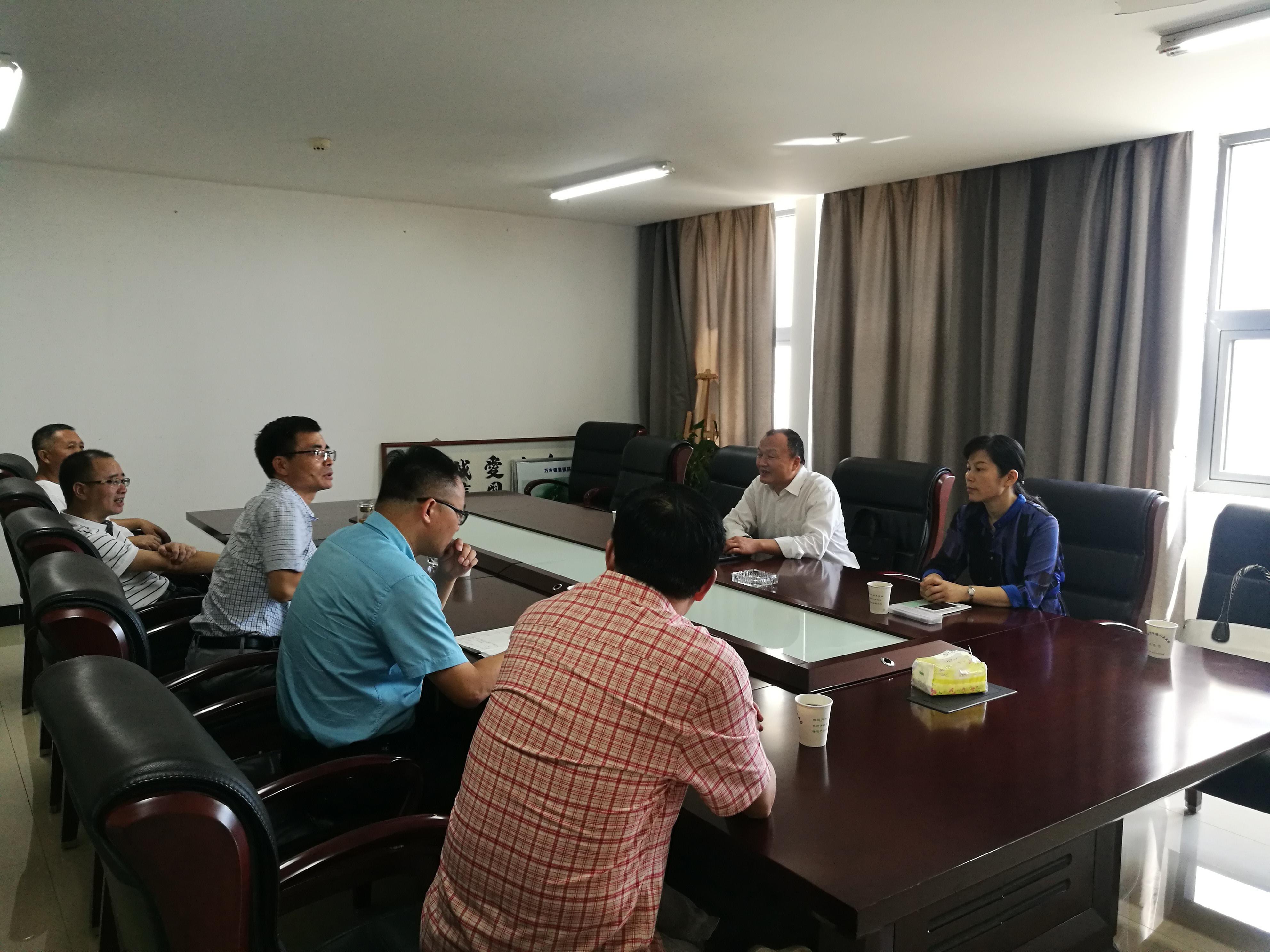 杭州市科协向导来富调研科普工作